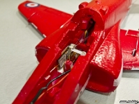 Everything installed in the red arrows hawk