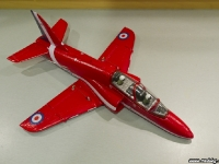 35mm Red Arrows Hawk front right angle