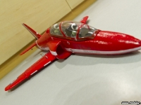 35mm Red Arrows Hawk front angle