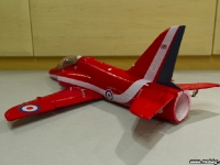 35mm Red Arrows Hawk rear left angle