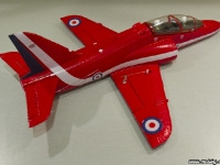 35mm Red Arrows Hawk rear right angle