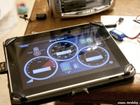 Spektrum STI unit on iPad